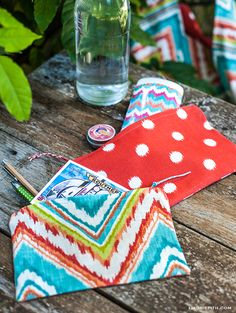 Sew These DIY Zipper Bags for Your Summer Outings