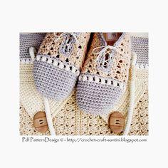 Pearl-Slippers - Basic Slipper Crochet Pattern - Istant Download