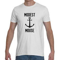 T-shirt , MODEST MOUSE , 5 colors.