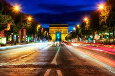 This is arguably the most famous street in the world, and we both know you are going to end up there at some point.  It's very touristy, but if you hang around after dark you can find some interesting and beautiful scenes to point the camera at.  I also recommend stopping for a macaron or two at Laduree!  At one end is the Arc de Triomphe, and the other end is basically the Louvre.  In between you could fill a memory card or two!