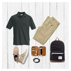 """""""Modish Man Grid 1"""" by angel-ramos-i on Polyvore featuring Keds, Herschel Supply Co., men's fashion and menswear"""
