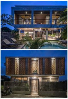 Concrete Wall, Concrete Floors, Deck Design, Modern House Design, Timber Screens, Floor Ceiling, Enjoy The Sunshine, Unique Lighting, Ground Floor