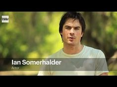 ▶ Vampire Diaries Star Ian Somerhalder Wants Young People to Take Action