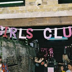 Welcome to the world of Girls Club Zine, no boys allowed (Photo by Audrey Krako)