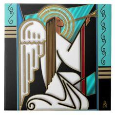 Image result for Art Deco ceramic tiles
