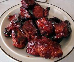 Char Siu Pork, sweet, spicy and smoky at oldfatguy.ca
