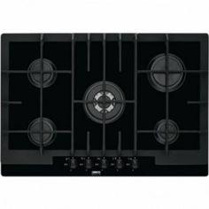 Zanussi Gas Hob Built In, Black - ZGS782ICTN - Built in Hobs - Cooking - Household Appliances