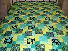 Bold and Beautiful Full Size Quilt!