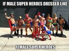 Male superhero