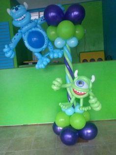 Mosnter Inc balloon sculpture