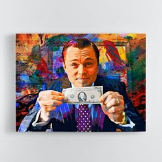 The Wolf of Wall Street - 60 x 40