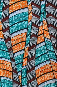 Traditional African Patterns and Textiles