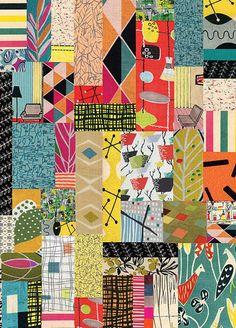 print & pattern: XMAS/GIFT WRAP - petra boase