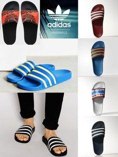 new product 165ab 1d7b6 Adidas OriginalsAdilette Slider Sandals 7色