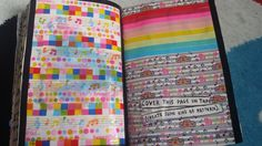 My Wreck This Journal - Cover This Page In Tape #kerismith #wreckthisjournal #thisisnotabook