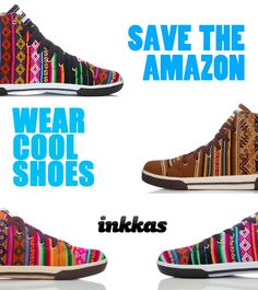 You can help save the Amazon & look good while doing it! - Inkkas (Click to see the work we do with AmazonWatch to help save the Rainforest!) #HandMadeInkkas #Savetheamazon