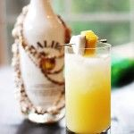 Coconut Pineapple Rum Drink - I am sure this version is yummy BUT... Malibu is coconut flavored AND, if you just mix it with pineapple juice and a splash of lime, it will taste fabulouso too!