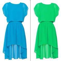 #dresses for #applebodytype #highlowdress