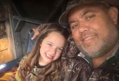 One Happy Little Girl with Her Rewards of Her Deer Hunting Season