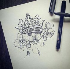 Image result for tiara tattoo design