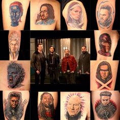 Days of Future Past: See other mutants show their pride with character tattoos. Catch Pike Ink Master's X-Men themed episode tonight on Pike TV. Spike Tv, Days Of Future Past, Ink Master, Men's Day, Tattoo Machine, Xmen, Get A Tattoo, Different Styles, Cool Tattoos