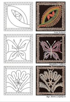 Needle Tatting, Needle Lace, Lace Art, Bobbin Lace Patterns, Lacemaking, Lace Jewelry, Diy Projects To Try, Needlework, Embroidery