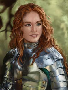 Warrior Woman 2 by rodmendez.deviantart.com on @deviantART