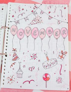 November Bullet Journal Setup | Plan with Me - Joliecious