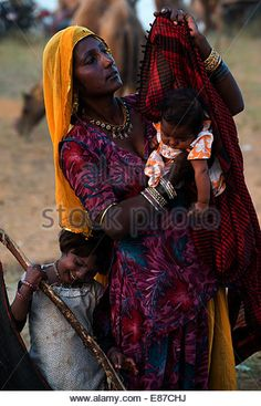 Mother and child,Pushkar,Rajastan,India. Ariana Grande Drawings, She Girl, African Men, Mother And Child, More Photos, India, Stock Photos, Children, Photography