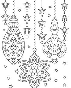 Sea Coast - Printable Adult Coloring Page from Favoreads (Coloring book pages for adults and kids, Coloring sheets, Coloring designs) Christmas Ornament Coloring Page, Printable Christmas Ornaments, Christmas Coloring Sheets, Printable Christmas Coloring Pages, Easter Coloring Pages, Flower Coloring Pages, Animal Coloring Pages, Coloring Book Pages, Coloring Pages For Kids
