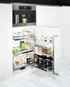 Clever storage solutions.