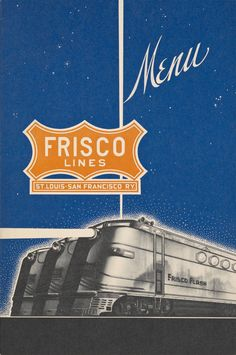 There was a time when travelling by trains meant passengers could sit down for full-service meals just like in high-end restaurants. Everything was fancy, even the menus. Here are 14 of the most fancy-looking menus from days gone by. Prime Rib Of Beef, Luncheon Menu, Hudson News, Restaurants, New York Central, Southern Comfort, New York Public Library, Menu Restaurant, Retro Futurism