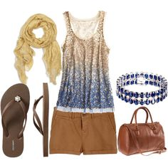 summer blues/browns