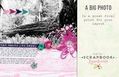 Inspiration: Big photo | Digital Scrapbook Ingredients