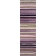 A striped version of a lilac runner