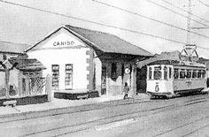 La antigua estación de Canido, en la avenida Ricardo Mella, se encuentra abandonada