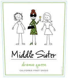 Devil Wears Prada & Drama Queen - check out this pairing @Shelley Parker Herke Middleton Sisters Wine