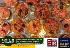 Seguimos en el Salon de Gourmets  en IFEMA, Madrid, hoy si  visitas la feria y pasas por nuestro stand 8H17, podrás degustar tapa de ENSALADA MURCIAN, ¡ te esperamos !