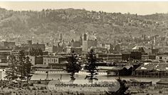 Downtown Portland and the West Hills - 1898
