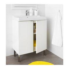 LILLÅNGEN / TÄLLEVIKEN Washbasin cabinet with 2 doors - white - IKEA