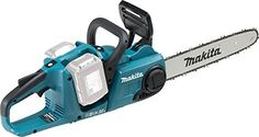 Chop fallen branches into manageable sizes logs anywhere you need to with this Makita cordless chainsaw.  Brushless motor Bar size - 35 cm Chain speed - 0-20 m/sec Duc353 is a cordless chain saw powered by two 18V li-ion batteries in series Lock-off lever.  Note: BODY ONLY - NO BATTERIES, CHARGER OR CASE