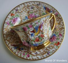 German-made lamb studio demitasse demitasse cup and saucer and (Reabado) - in no-Rudoobuwanda Wow