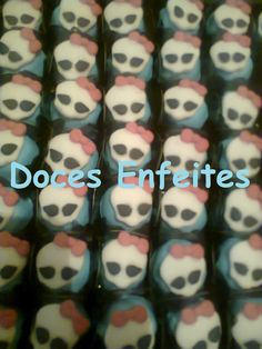 Doces Fondados Monster High Encomendas:(21) 2652-6583 www.docesenfeites.blogspot.com