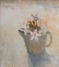 ❀ Blooming Brushwork ❀ - garden and still life flower paintings - Alice Mumford, Jasmine