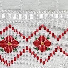 Swedish Embroidery, Blackwork Embroidery, Paper Embroidery, Cross Stitch Embroidery, Cross Stitch Borders, Cross Stitch Designs, Cross Stitching, Cross Stitch Patterns, Bargello Patterns