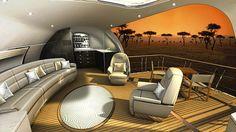 Design: 7 Amazing Aircraft Interior Designs