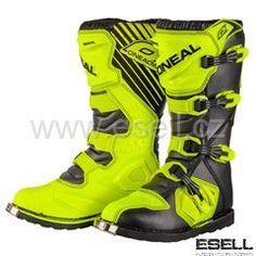 Boty Oneal Rider neon-žlutá