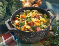 Gemüse-Fleisch-Eintopf Rezept | LECKER