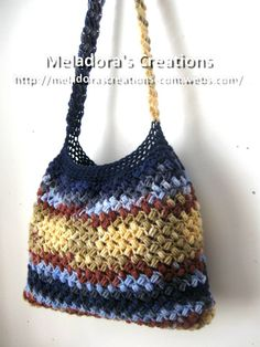 Bean Stitch Purse - Free Crochet Pattern
