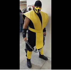 @wasabivision in his legendary Scorpion cosplay 💪💪💪💪💪💪💪💪💪👏👏👏👏 #scorpion #scorpioncosplay #mortalkombat #mortalkombatcosplay #cosplay #cosplayers #instalike #incredible #inspiration #instacomics #instafollow #instacosplay #awesome #amazing #wow #epic #legendary #magnificent #follow #beautiful #cool #galacticgamer